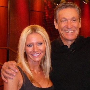 Carey and Maury Povich - Carey Torrice performs with legendary talk show host Maury Povich