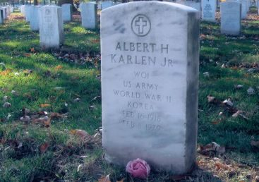 Arlington National Cemetery - My Grandfathers final resting place in Arlington National Cemetery (approx 50 feet from my fathers)