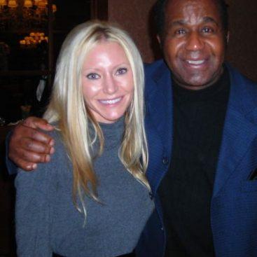 Carey and Emanuel Stewart - Carey Torrice with legendary boxing trainer Emanuel Stewart