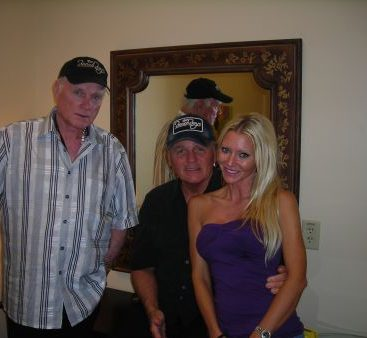 America's Band - Carey Torrice shown with Mike Love and Bruce Johnston of The Beach Boys.