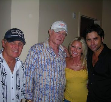 The Beach Boys in Michigan 2008 - Carey Torrice with Bruce Johnston