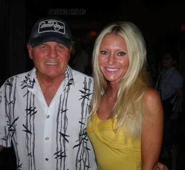 God Only Knows - Carey Torrice with Bruce Johnston of The Beach Boys before their concert in Harris