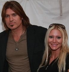 Carey with Billy Ray Cyrus - Carey Torrice hangs out with with legendary country singer Billy Ray Cyrus (Photo: Larry Garcia)