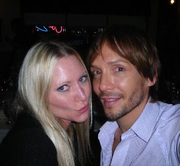 """Carey with Ken Paves - Carey Torrice the """"hottest politician in America"""" poses with Hollywood hairstylist Ken Paves"""
