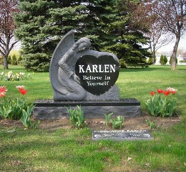 Carey's Mother's final resting place -