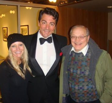 Dean Martin - The Rat Pack visits Clinton Twp all the way from VEGAS!  Carey pictured here with her Father in Law catch a show with the family.  The impersonators were Fantastic!
