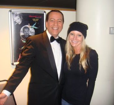 Frank Sinatra with Carey - Frank Sinatra's Vegas impersonator takes the Rat Pack Show to MCC's Performing Arts Center