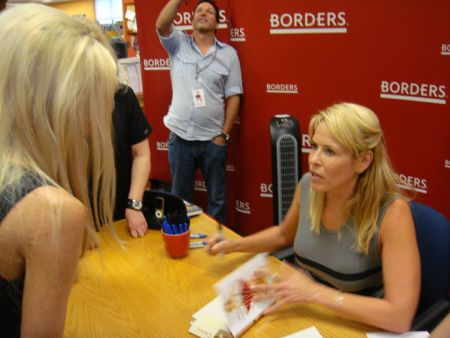 Carey meets Chelsea Handler - Carey meets and chats with the best-selling author during her book signing tour in Birmingham