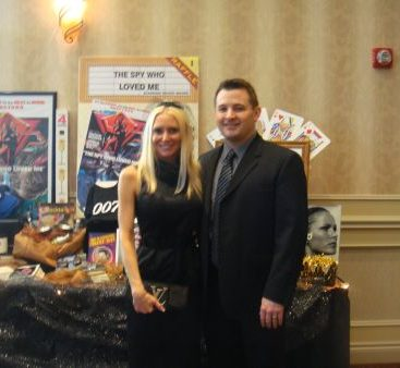 """""""Fools For Kids"""" Fundraiser - Carey and Michael Torrice donate Spy gear to Care House to be raffled off.  This years theme was James Bond """"Casino Royale."""""""