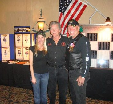 """""""Our Generation"""" Movie Fundraiser - Carey with war heroes """"Gadget"""" and Randy M. at a fundraiser for the Vietnam movie """"Our Generation"""""""
