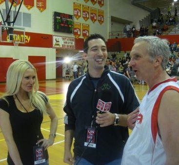 On the list TV interview - Carey Torrice and Domenic of Onthelisttv.com interview Fox 2's Rob Wolchek.  Rob was a celebrity basketball player against the Statesman team for the CODA Charity event.
