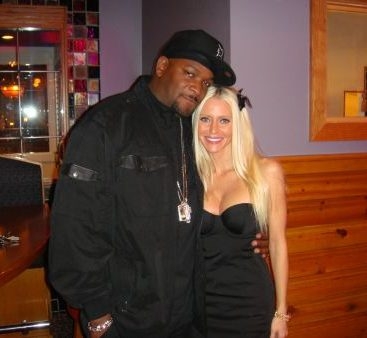 Trick Trick - Carey Torrice Hangs with Trick Trick at an event hosted by Macomb Monthy Magazine