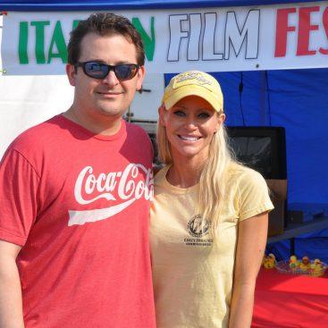 Italian Festival - Carey and Michael Torrice attend the Italian festival