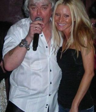 Carey and Air Supply - Carey Torrice with Russell Hitchcock of the band Air Supply