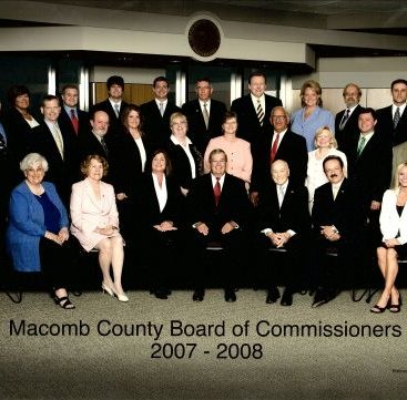 Board Of Commissioners - Carey Torrice's 1st term on the Macomb County Board of Commissioners