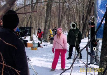 Behind the scenes of Silent Scream - A behind the scene look at Carey Torrice